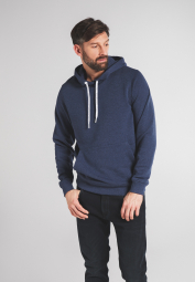 ETERNA SWEATSHIRT UPCYCLED MATERIALS NAVY UNIFARBEN